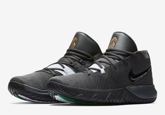 The Nike Kyrie Flytrap Appears In Classic Boston Celtics Theme