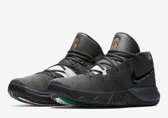 c8082867b41 The Nike Kyrie Flytrap Appears In Classic Boston Celtics Theme