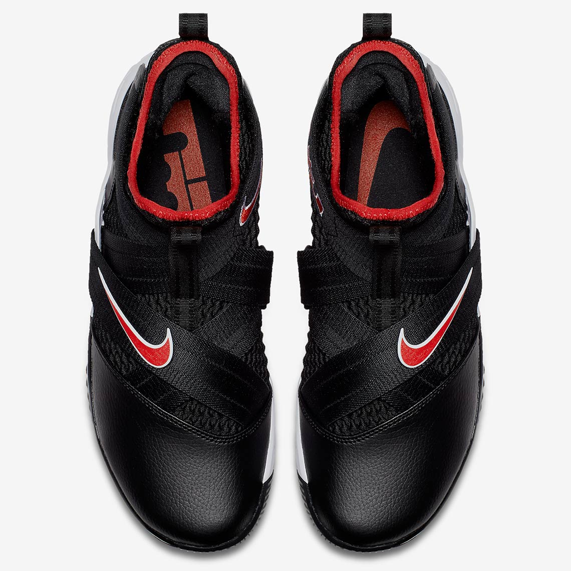 1c051087205c3 Nike LeBron Soldier 12 Black Red Release Info AO2609-001 ...