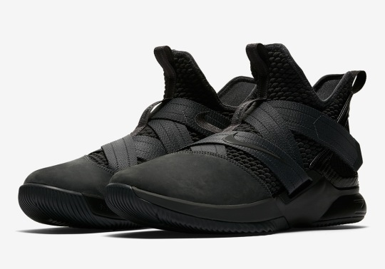 "Nike LeBron Soldier 12 To Debut In ""Zero Dark Thirty"" Colorway"