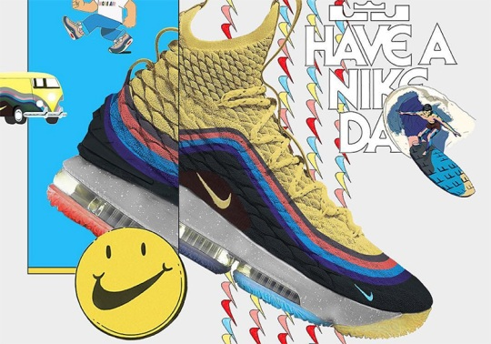 Should Nike Create A #LeBronWatch Inspired By Sean Wotherspoon's Air Max?