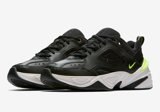 Nike M2K Tekno Appears In Black And Volt