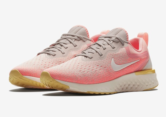 First Look At The Nike Odyssey React Running Shoe