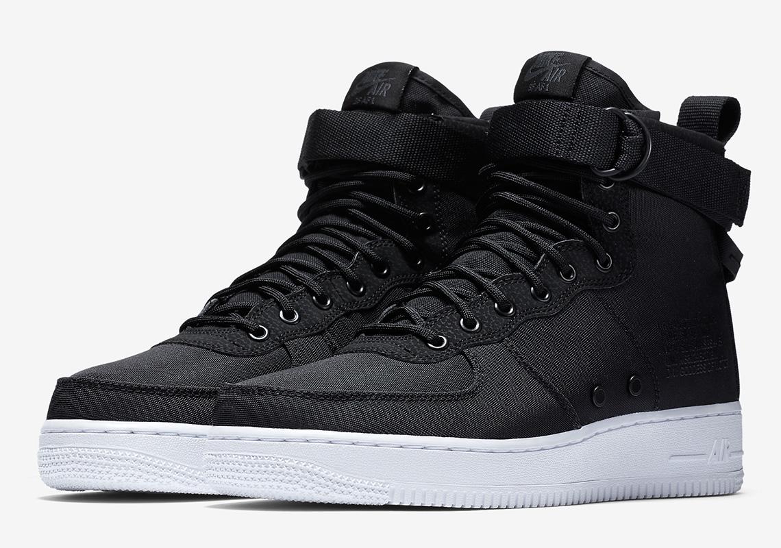 Nike SF-AF1 Black Nylon/White 917753