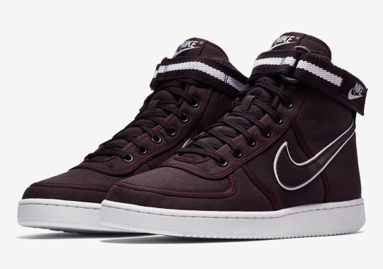 """3b05df95eaad2f Nike Vandal High Supreme """"Burgundy Ash"""""""