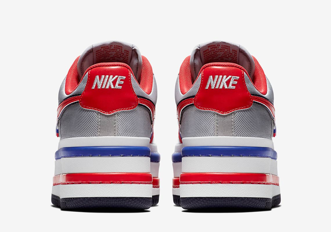 1d043c7d7fc Color  Metallic Silver University Red Style Code  AO2868-001. Nike Vandal  Surprise Release Date  May 5