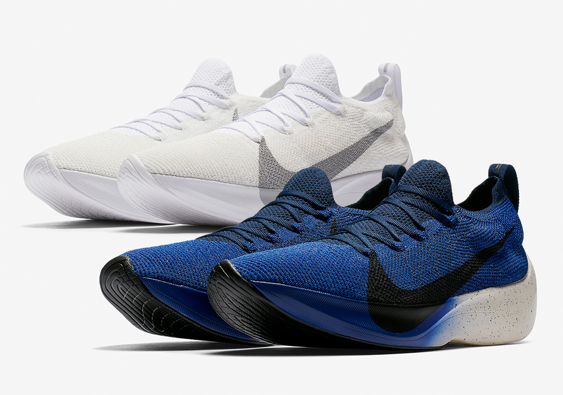 b829fbcff96 Nike Vapor Street Flyknit Arrives In White And Royal Colorways