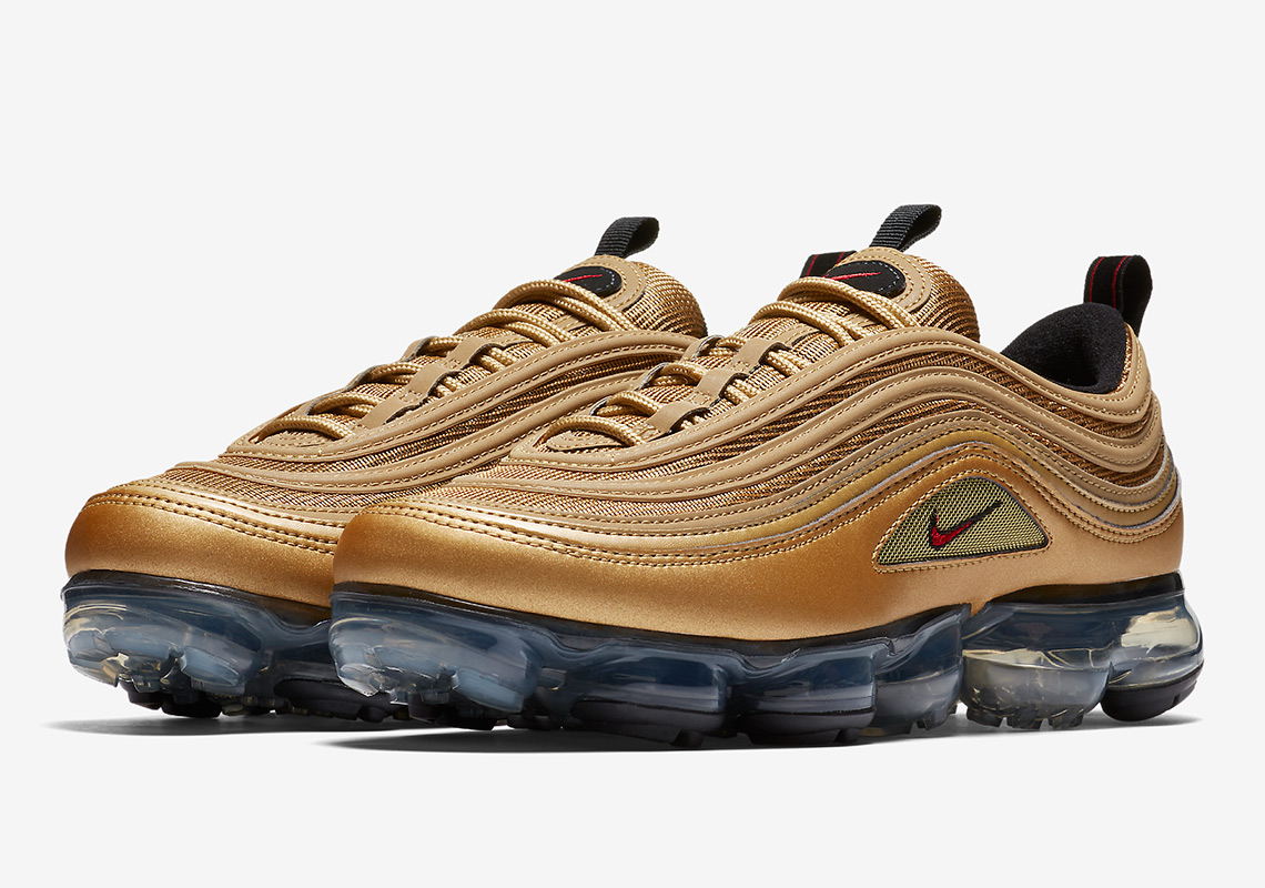 shop nike air max 97 metallic gold