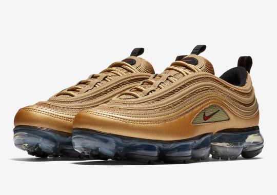"Nike VaporMax 97 ""Metallic Gold"" Is Coming Soon"