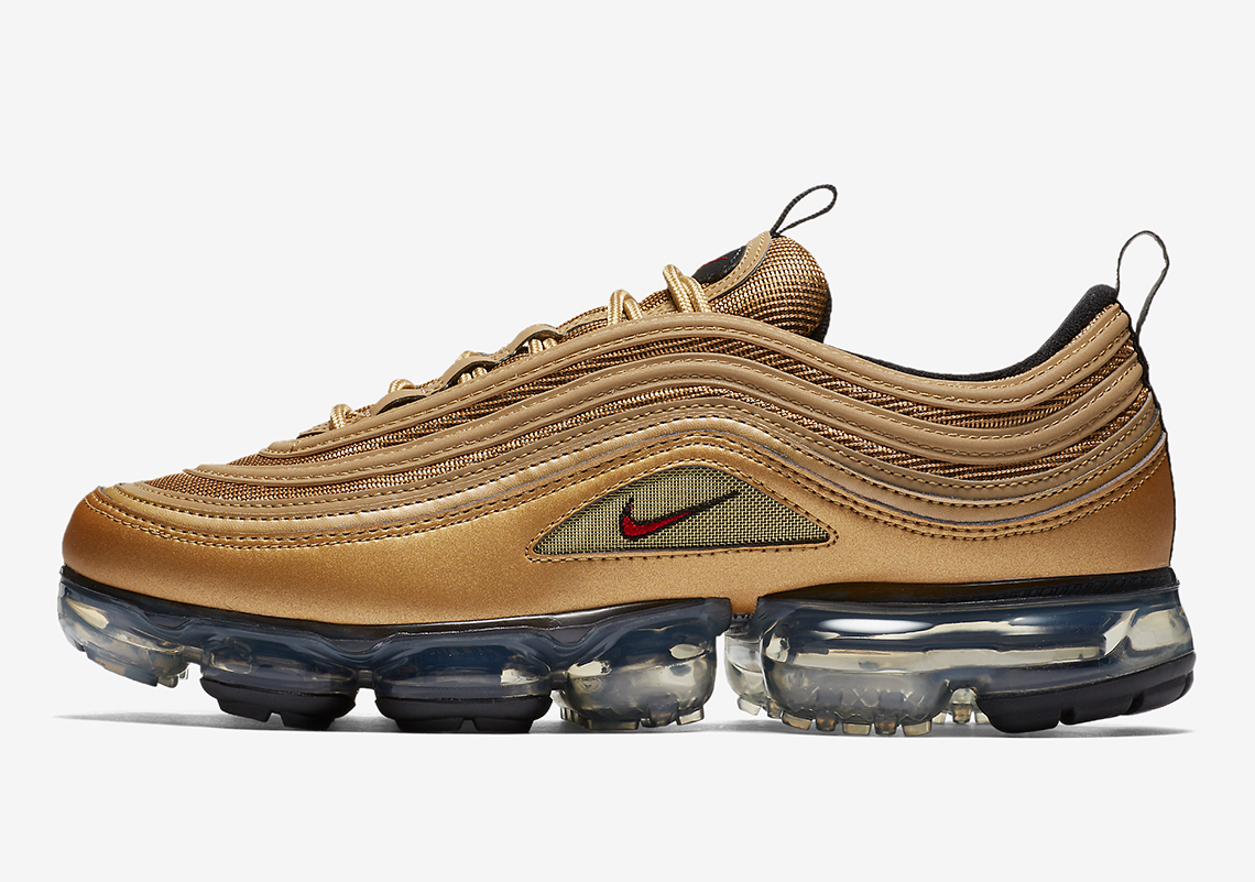 "super popular 11e13 41f34 Nike VaporMax 97 ""Metallic Gold"" Is Coming Soon"