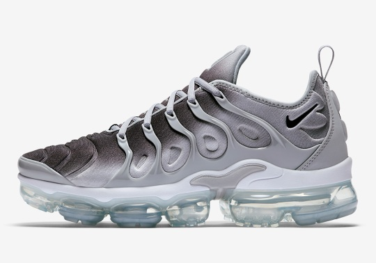 "The Nike Vapormax Plus Reveals New ""Silver Gradient"" Colorway"