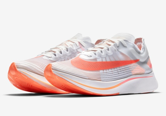 The Nike Zoom Fly SP Is Dropping In Neon Orange