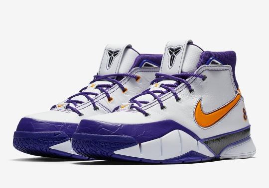 Nike Kicks Off Massive Playoff Retro Collection With This Zoom Kobe 1 Protro