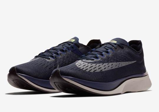 Nike's Zoom VaporFly 4% Is Releasing Tomorrow In Obsidian
