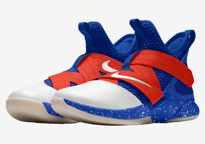 best service 6e417 64b09 The Nike LeBron Soldier 12 Is Customizable On NIKEiD