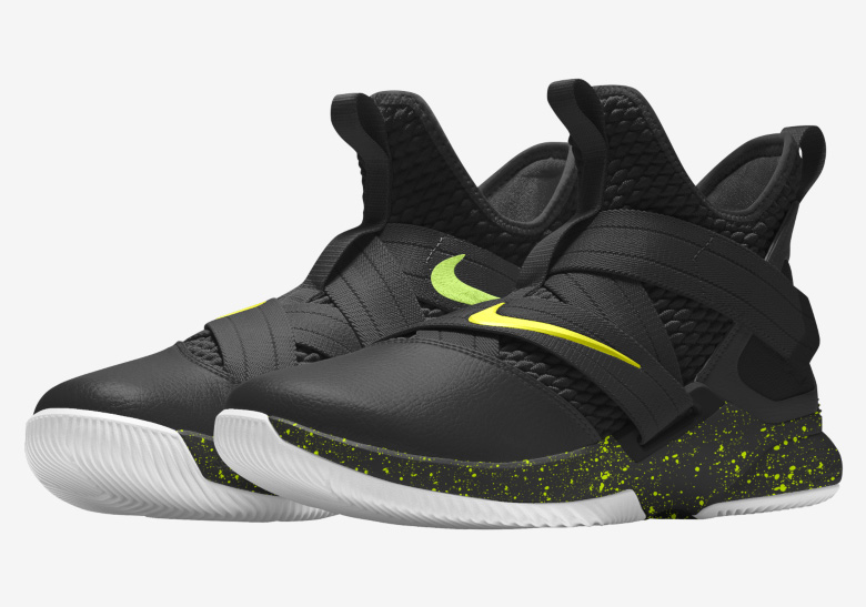 sports shoes 5b6ae 629bf Nike LeBron Soldier 12. Release Date  April, 2018. AVAILABLE AT NIKEiD