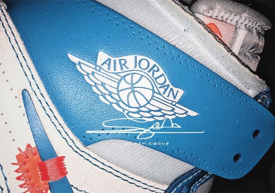 "44f5114dee902e First Look At The OFF WHITE x Air Jordan 1 ""UNC"""