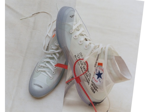 How To Buy The OFF WHITE x Converse Chuck Taylor
