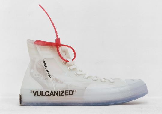 The OFF WHITE x Converse Chuck Taylor Is Finally Releasing In May