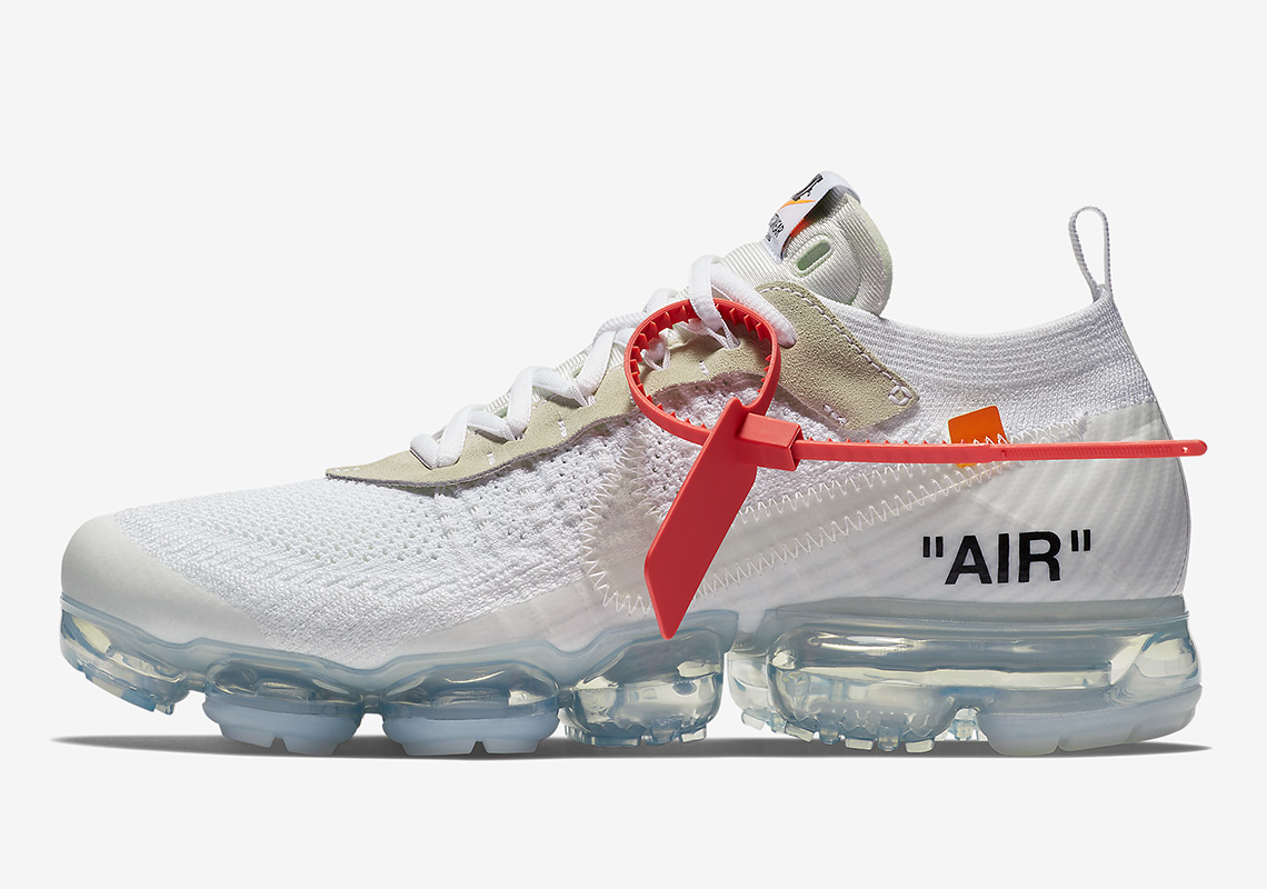 ee9afe561195 Official Images Of The OFF WHITE x Nike Vapormax In White
