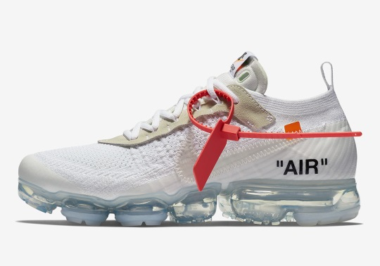 Official Images Of The OFF WHITE x Nike Vapormax In White