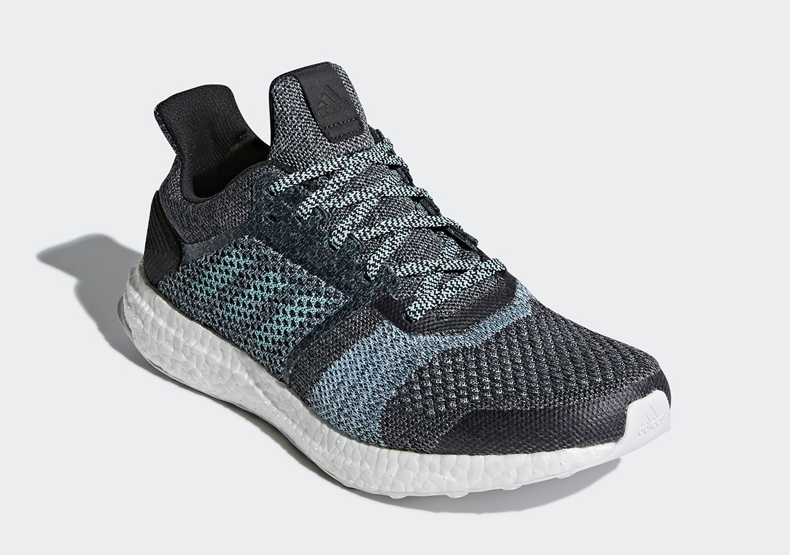 4a5bdcd9d ... official parley x adidas ultra boost st available at adidas 210. color  carbon carbon blue