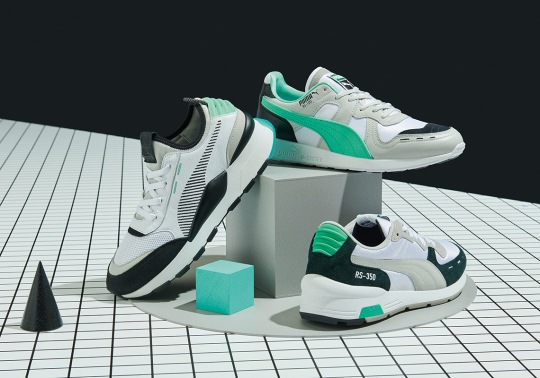 PUMA Reinvents The R-SYSTEM Legacy With Three Iconic Models