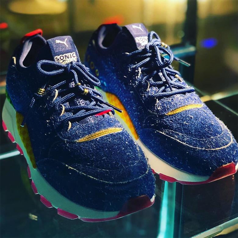 The 0 Rs Sonic Shoes X Hedgehog Puma HEAwq0