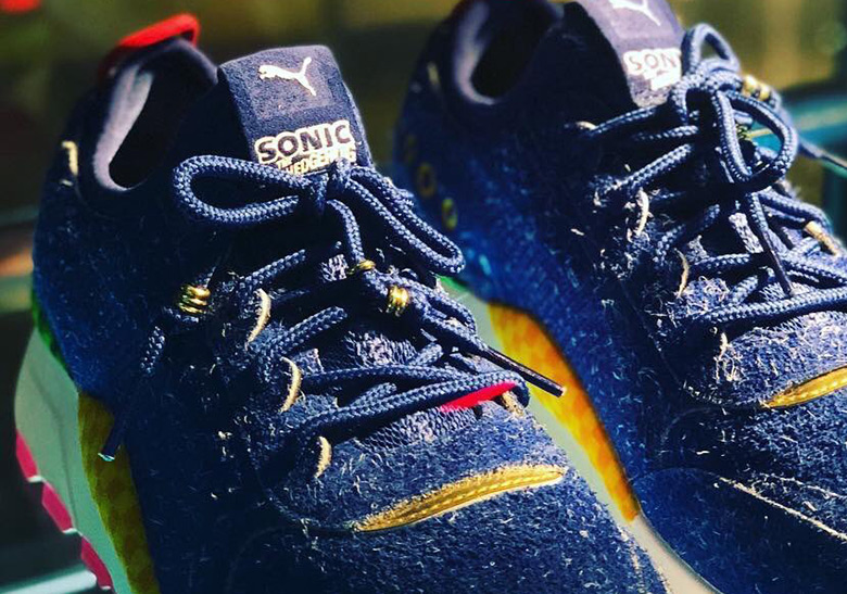 9fa87bf8afa First Look At The Sonic The Hedgehog x Puma RS-0