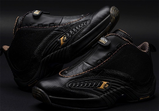 Reebok Creates Limited Edition Answer IV For Iverson Classic