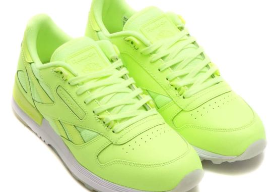 f78b25c2e0d The Reebok Classic Leather 2.0 Arrives In Three Glow-In-The Dark Colorways