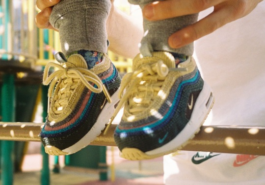 The Sean Wotherspoon x Nike Air Max 1/97 For Toddlers Releases This Saturday In Europe