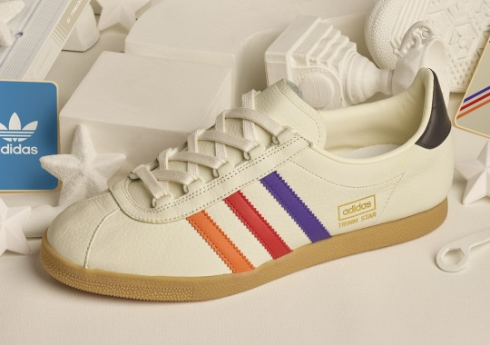 half off d9a25 f6343 adidas Originals and Size  Bring Back The Trimm Star In VHS-Inspired Theme