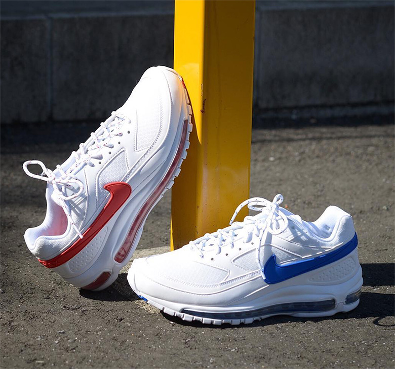 34afdb7e4c8c Nike Air Max 97 BW Skepta Color  Summit White Hyper Cobalt-White Style  Code  AO2113-100