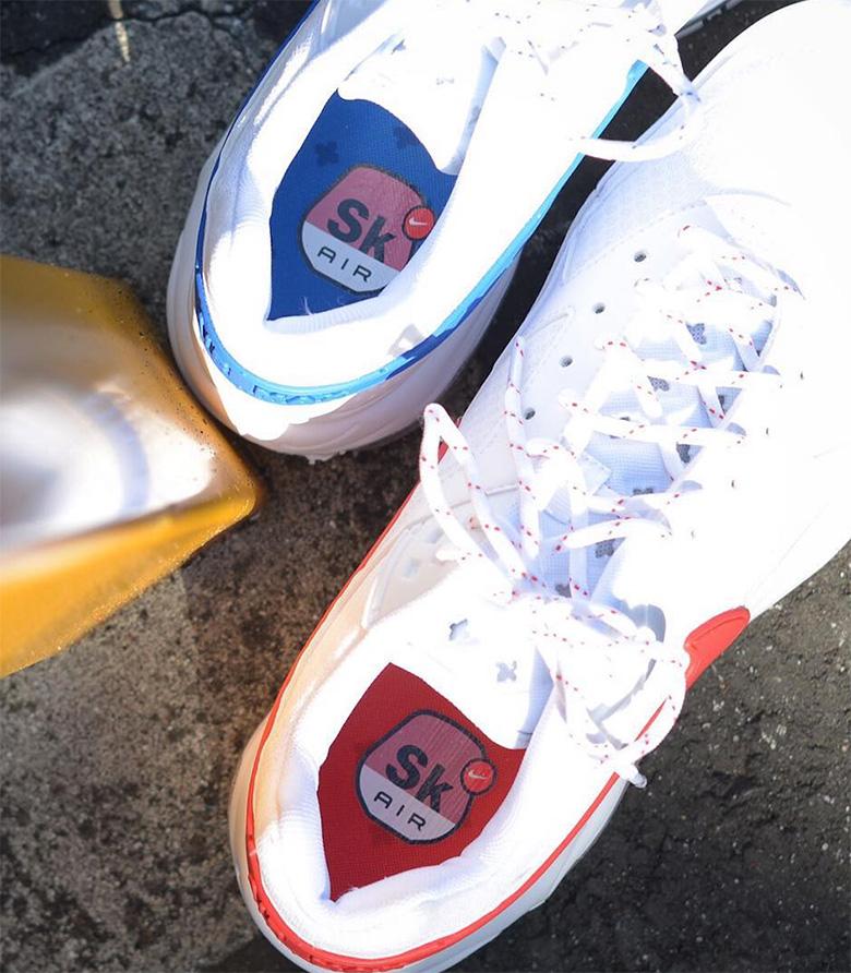 c688e54495b85e Nike Air Max 97 BW Skepta Color  Summit White Hyper Cobalt-White Style  Code  AO2113-100