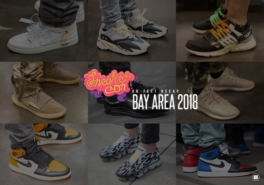 Here's What Was On Foot At Sneaker Con Bay Area
