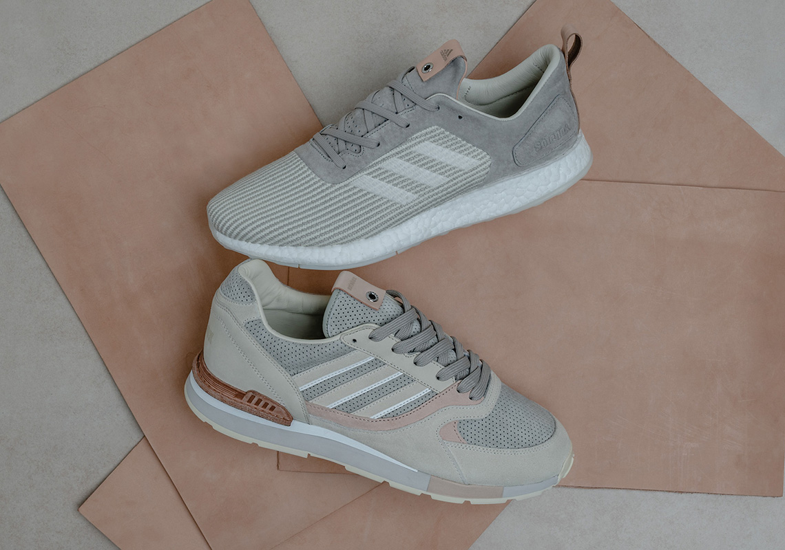 f0127f09e Solebox and adidas Consortium Present The Italian Leathers Pack