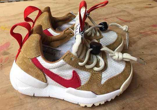 Tom Sachs x Nike Mars Yard 2.0 Releasing In Toddler Sizes