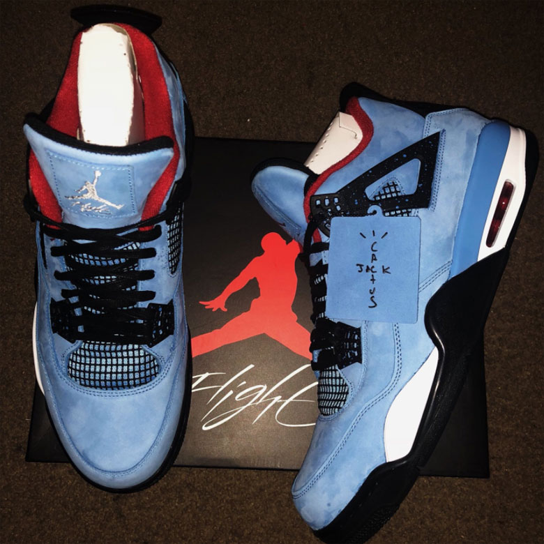 "7fb3638741350b Travis Scott x Air Jordan 4 ""Cactus Jack"" Release Date  June 9th"