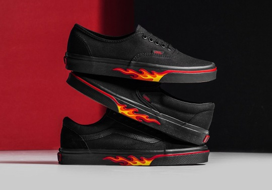 "Vans Heats It Up With The ""Flame Wall"" Collection"