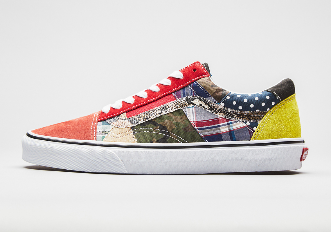 Vans Drops An Old Skool With A Patchwork Made Of Factory