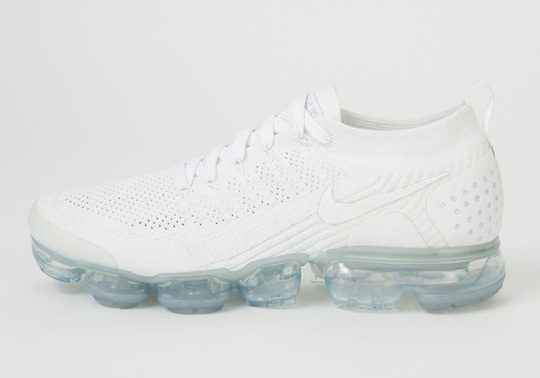 "Nike Vapormax 2.0 ""Triple White"" Set For A Summer Release"