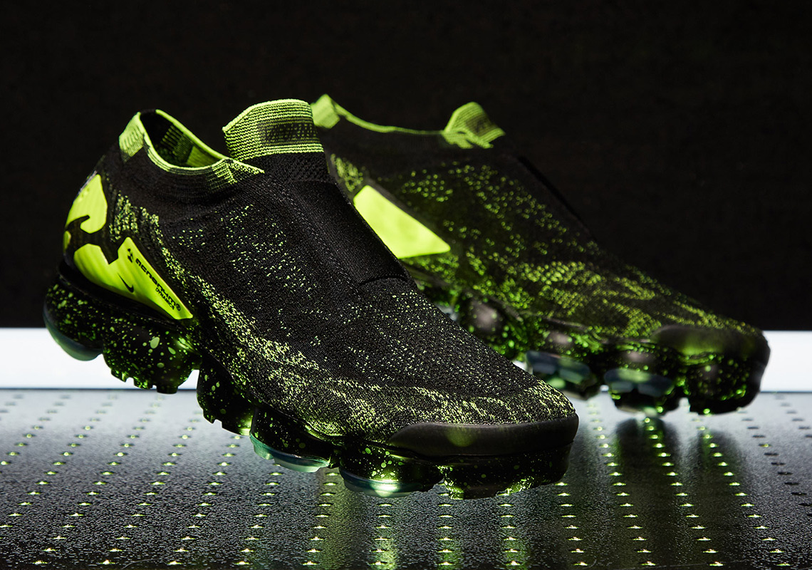 d81c12c4488 Where To Buy  ACRONYM x Nike Vapormax Moc 2 Black Volt - SneakerNews.com