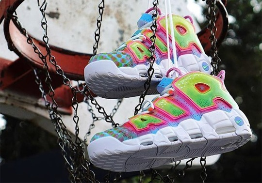 "Will Smith Reveals Nike Air More Uptempo ""Fresh Prince"" Customs"