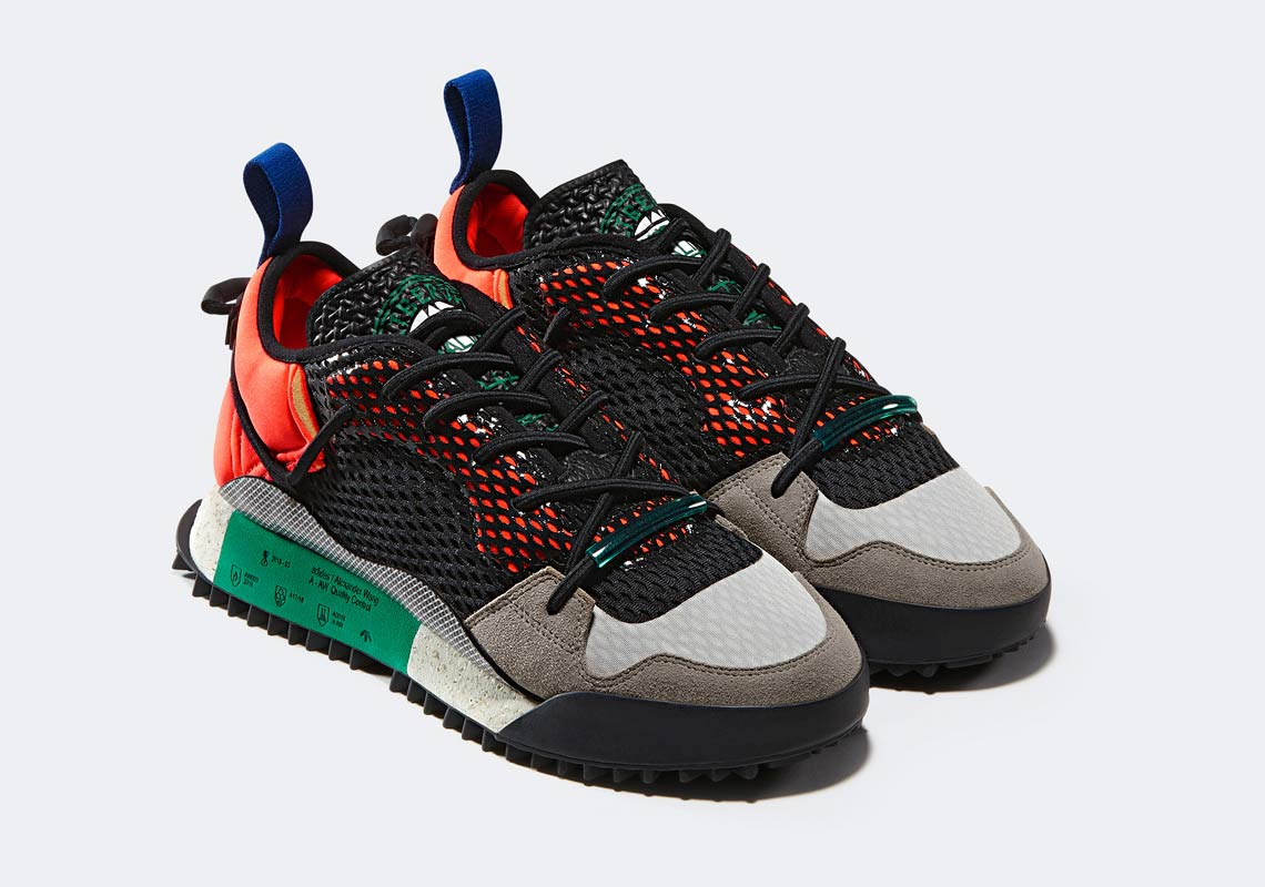 new product 0947d 860b4 adidas Alexander Wang AW Reissue Run Release Date May 19, 2018. AVAILABLE  SOON AT SNS 219. Color Solar RedCore BlackBold Green