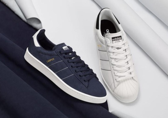 "adidas Originals ""Handcrafted Pack"" Presents The Campus And Superstar In Premium Fashion"