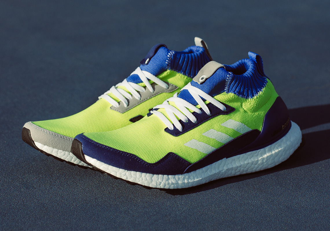 f6a62c9362429b The adidas Ultra Boost Mid Prototype Features Alternate Color-blocking