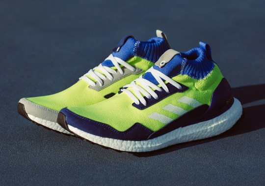 The adidas Ultra Boost Mid Prototype Features Alternate Color-blocking