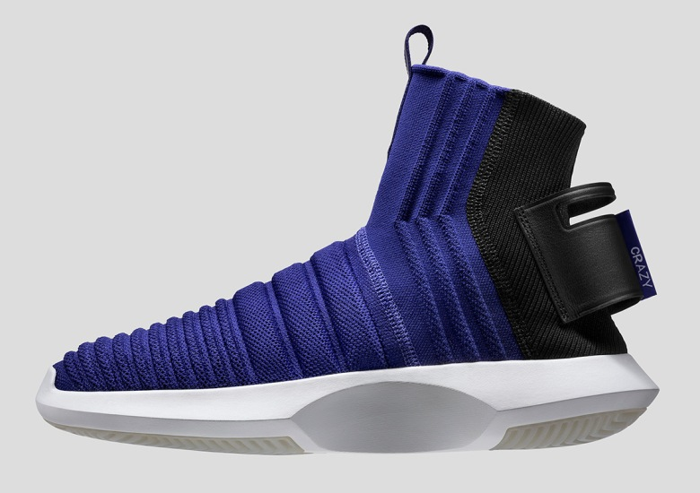 "adidas Brings ""Real Purple"" To The Crazy 1 ADV Sock Primeknit 7f011835e2cf"