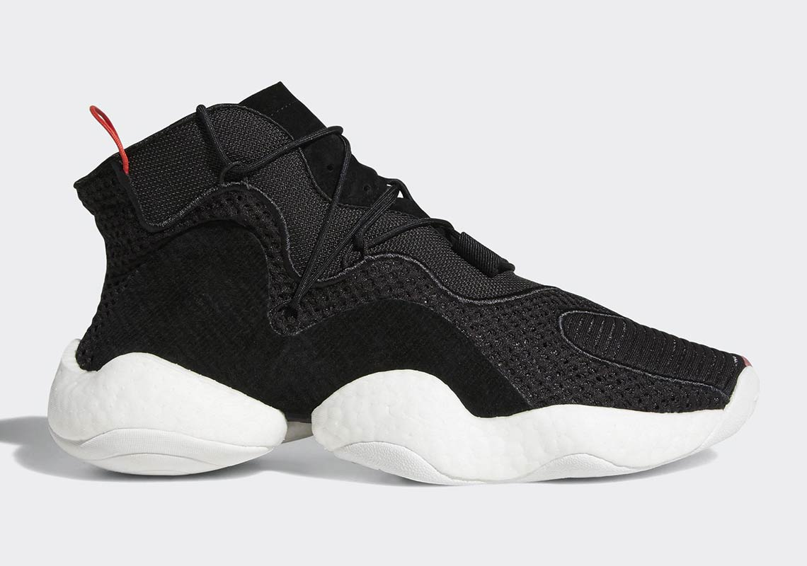 the latest 22e92 22680 adidas Crazy BYW In Black And Red Set To Arrive In June